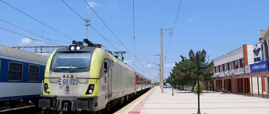 Der regionale Zugverkehr zum Edirne Ring wurde vorübergehend eingestellt