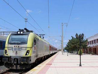 regionale togtjenester til Edirne-ringen er kansellert midlertidig