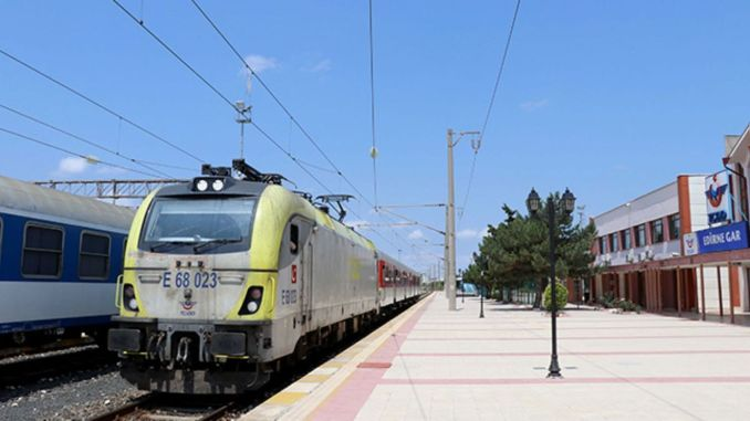 regional train services to Edirne ring have been canceled temporarily
