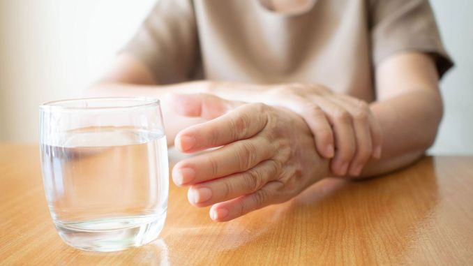 involuntary tremors in your hands can take over your body