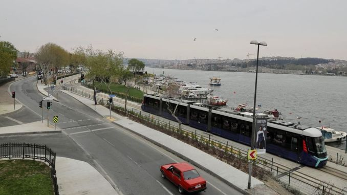 Eminonu alibeykoy tram line will also be finished