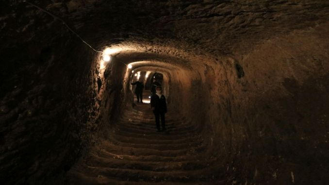 gaziantep castle tunnels open to visit