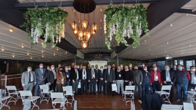 The first general meeting of the customs warehouse operators association was held.