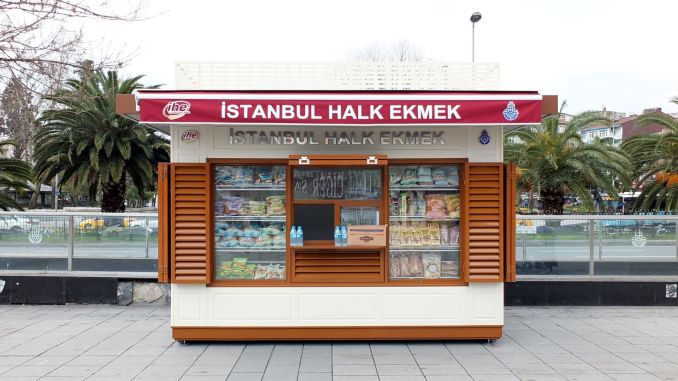 Who are given the Istanbul folk bread buffets