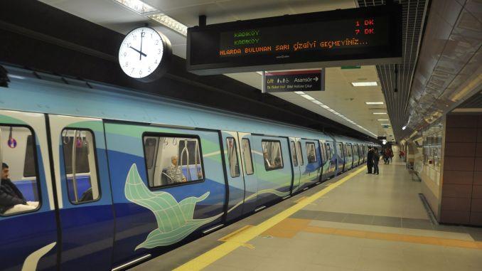 Arrangement of timetable in Istanbul metro lines