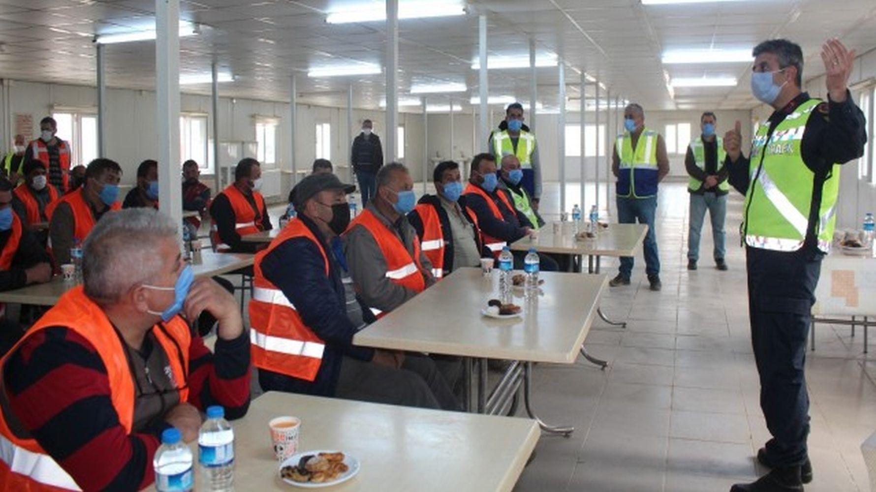 İzmir ankara high speed train construction training for drivers from the gendarmerie
