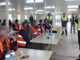 İzmir ankara high speed train construction training for drivers from the gendarmerie