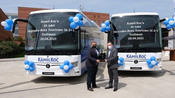 Kamil husband added to the fleet of Mercedes Benz Tourismo bus