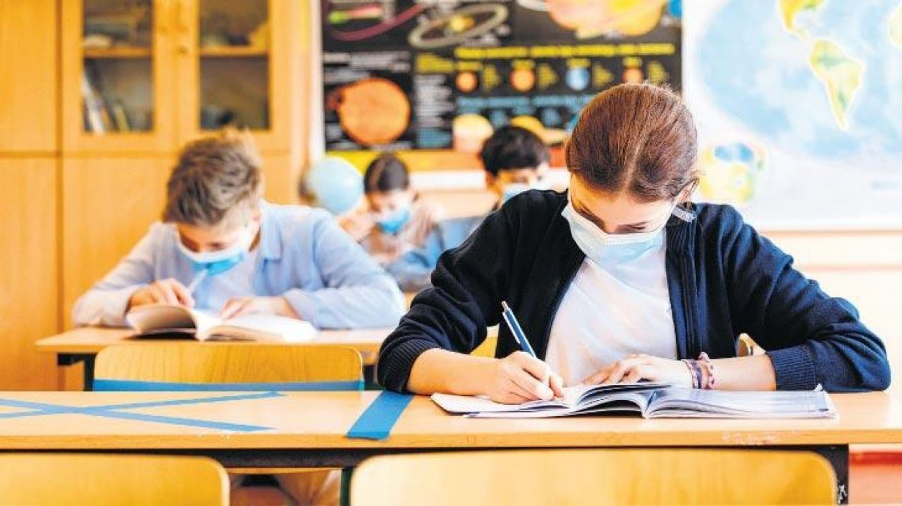 An explanation of the date of education and exam from face to face after the decision to close