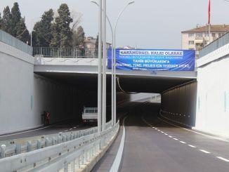Krydsningen af karamelbroen blev åbnet for trafik