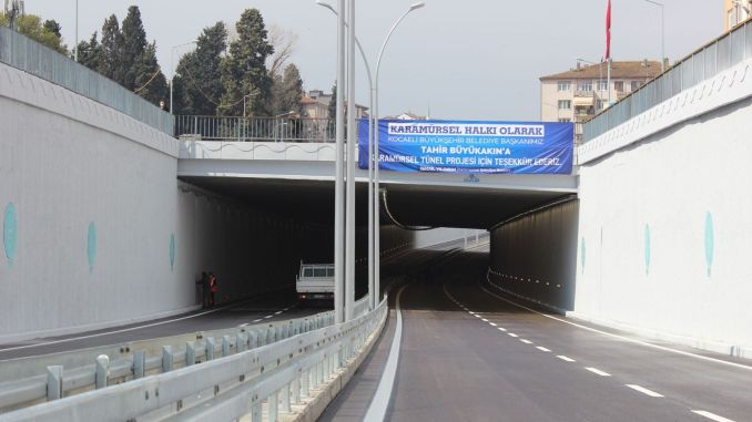 The caramel bridge intersection was opened to traffic