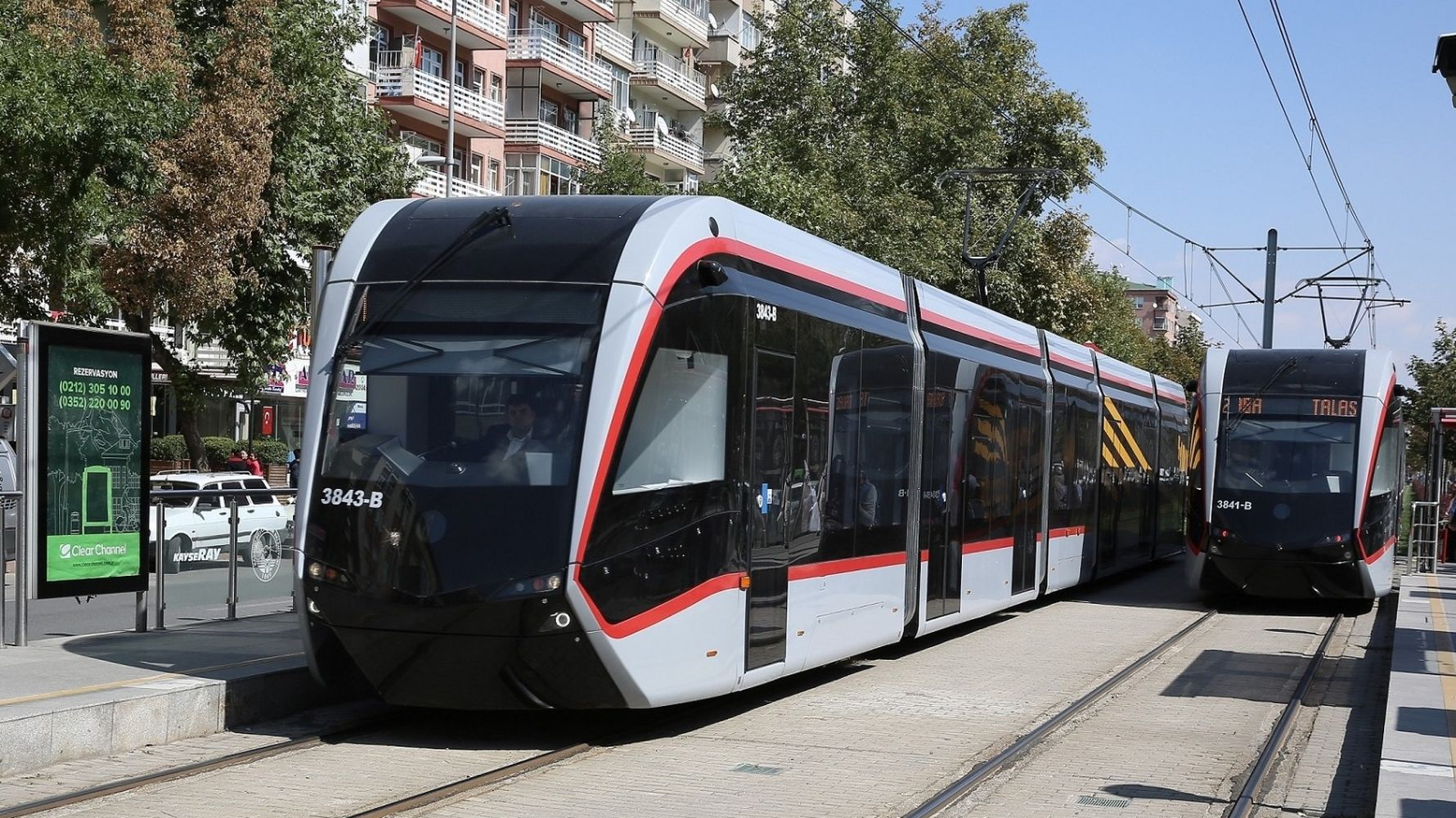kayseri rail system guzergahi armin entrust to electric