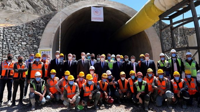 Kop tunnel will be open to service in our next year