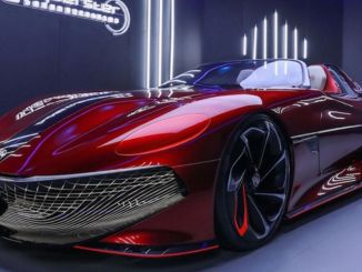 El concept car mg cyberster cubre kilómetros con una sola carga
