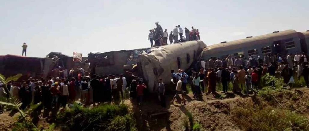 Der Mechaniker und sein Assistent waren bei dem Zugunfall in Ägypten nicht im Dienst
