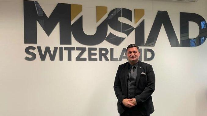 ahmet erbil was the head of musiad switzerland branch