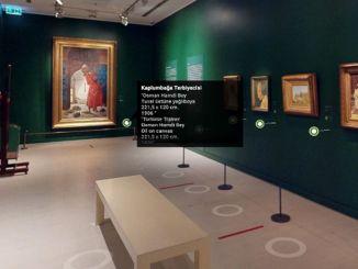 بيرا بانانا تلتقي بعشاق الفن في بيئة افتراضية