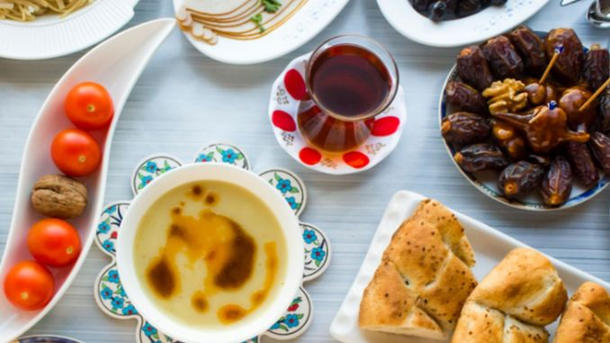 Puff points of sahur and iftar for a healthy Ramadan
