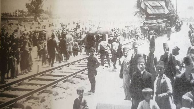 April Anadolu Bagdat Eisenbahn