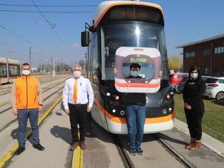 tram enthusiast Enginhan Demir with autism got his dream on his birthday