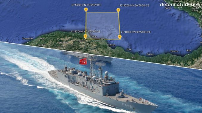 Turkish Naval Forces Will Conduct Shooting Training In Black Sea