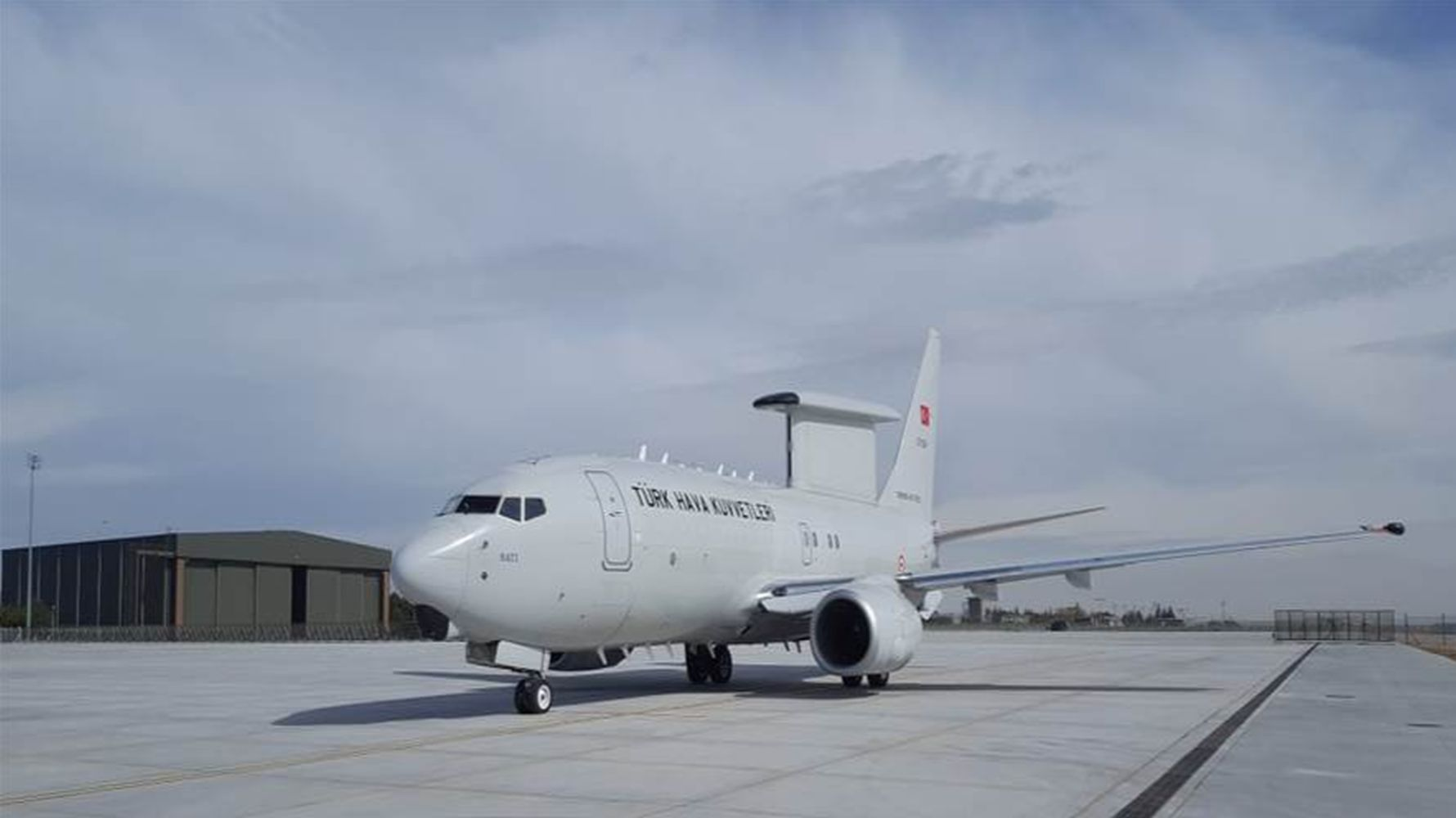 Turkish air force et hik plane performed its first foreign nato mission