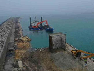 Works on unye port project continue without slowing down