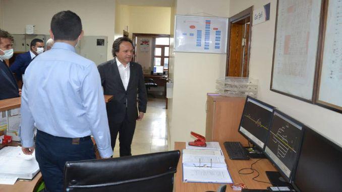 تم فحص المدير العام لـ TCDD في ميناء Bandirma الملائم