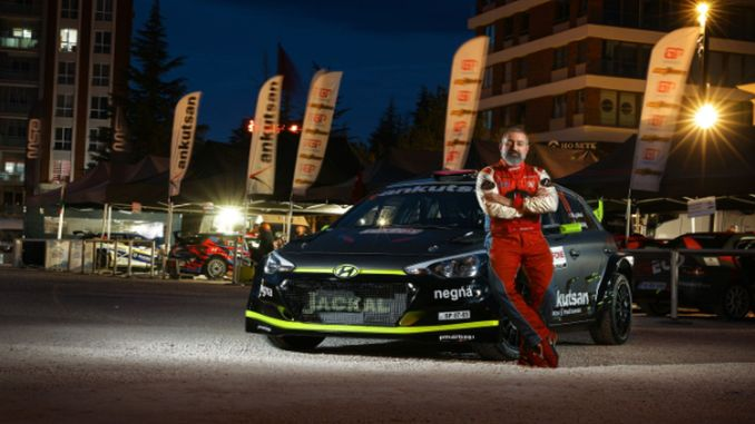 ankutsan rally team quickly started the european rally championship