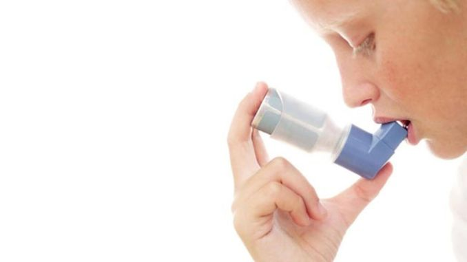 asthma is not a contagious infection