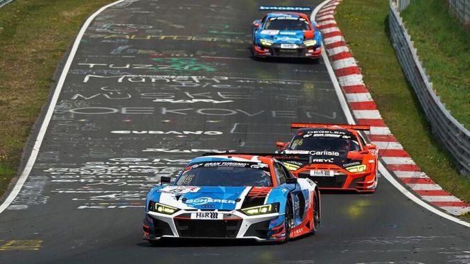 Audi Sport Nurburgring HDE Sixth Victory Pursuit