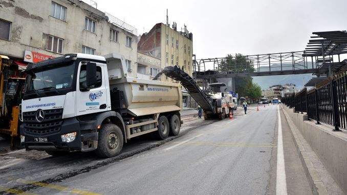 Bursa does not make concessions from transportation investments during its closing period