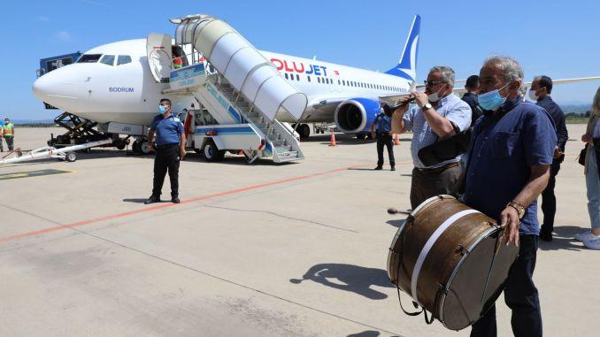 flights started at Bursa Yenisehir Airport