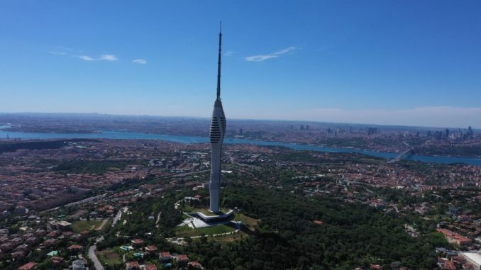 about camlica tv radio tower
