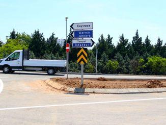 cayirova ciftlik vejkryds åbnet for trafik