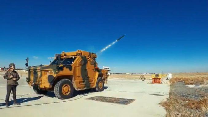 At the command of tsknin who shot multi-barreled rocket launcher