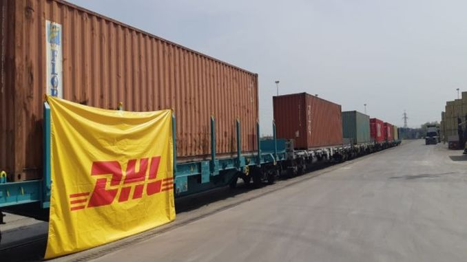direct rail service from dhl global forwarding to turkey