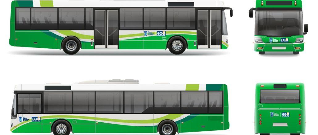 ego busca el consejo de la ciudadanía para el color y diseño de nuevos autobuses