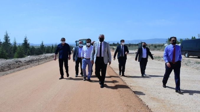 Eskisehir OSB and development zone connection road has reached the final stage