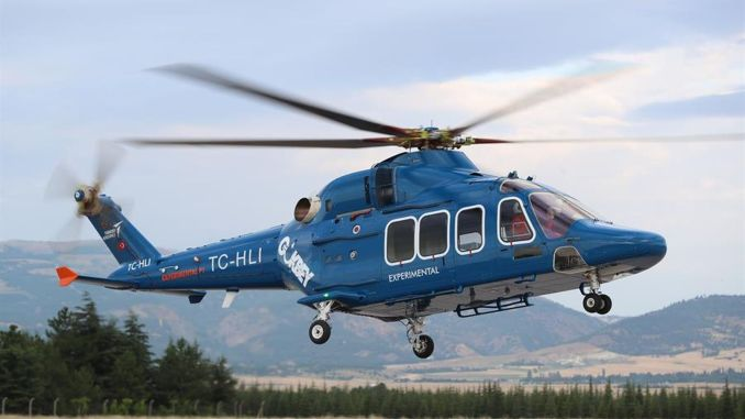 gokbey helskopteri certification flight