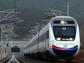 appel d'offres travaux de construction de la ligne de chemin de fer ispartakule cerkezkoy km