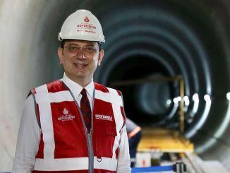 Proporcionamos un total de millones de euros de financiación para las construcciones del metro de imamoglu