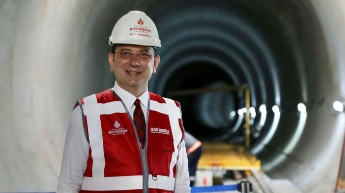 We provided a total of million euros of financing for imamoglu metro constructions