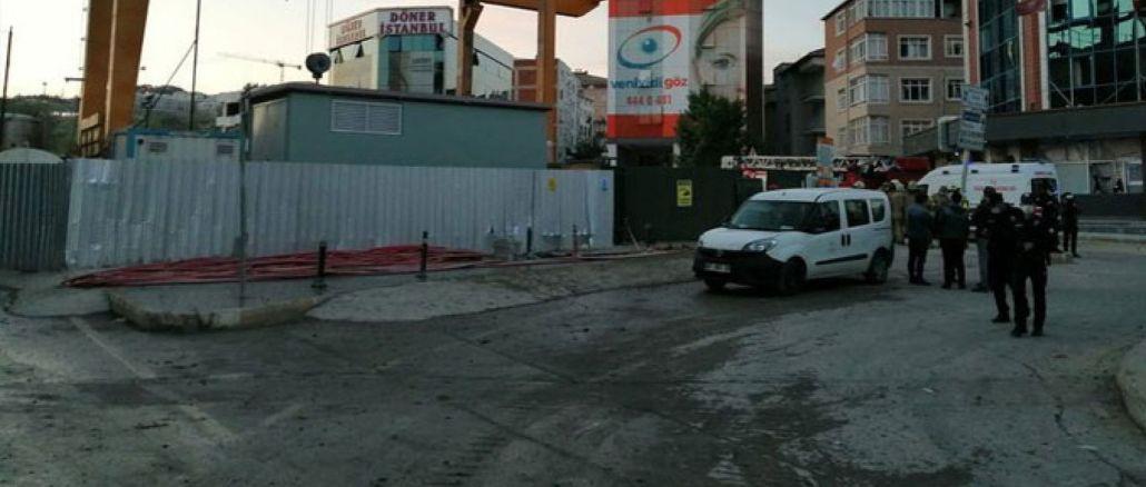 イスタンブールの地下鉄建設で発破し、職場や家の窓が壊れた