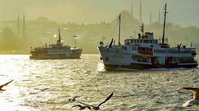 Kadikoy Ortakoy ferry service started