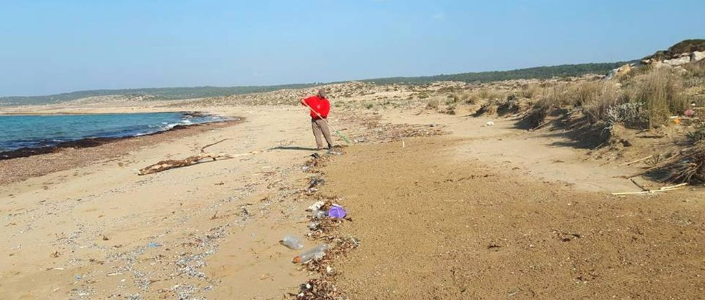 kktc beaches lubnan syria threatened by waste from israel and corn origin
