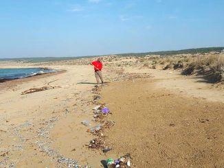 以色列和玉米來源的廢料威脅著Kktc海灘盧比南敘利亞