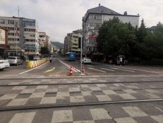 Kocaeli Leyla Atakan gatvė pertvarkyta dvigubomis juostomis