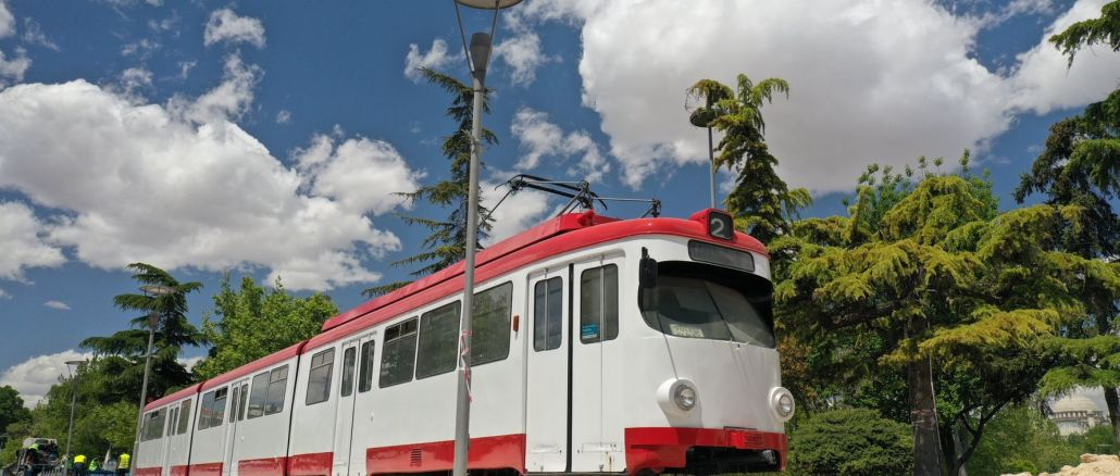 tram veterano a konya nel kulturpark