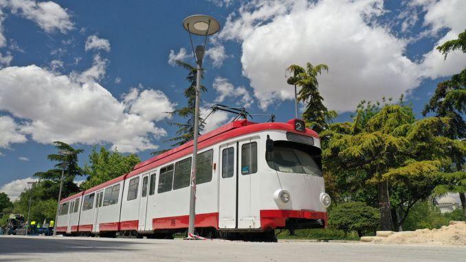 veteran tram in konya in kulturpark